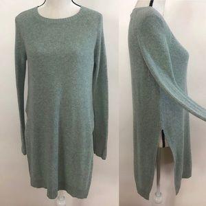 •Anthropologie• MOTH Pasadena Mint Tunic Sweater